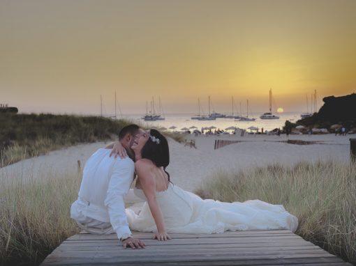 Boda en el paraíso, Formentera